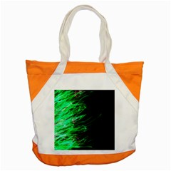 Fire Accent Tote Bag