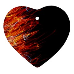 Fire Ornament (Heart)