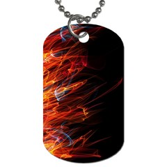 Fire Dog Tag (Two Sides)