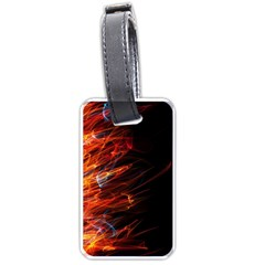 Fire Luggage Tags (One Side)