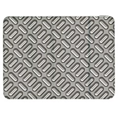 Grey Diamond Metal Texture Samsung Galaxy Tab 7  P1000 Flip Case