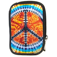 Tie Dye Peace Sign Compact Camera Cases