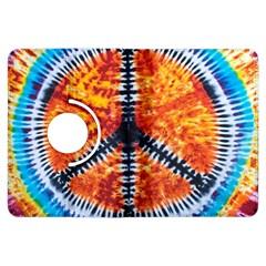 Tie Dye Peace Sign Kindle Fire HDX Flip 360 Case