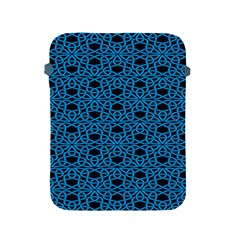Triangle Knot Blue And Black Fabric Apple iPad 2/3/4 Protective Soft Cases