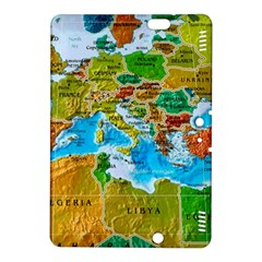 World Map Kindle Fire HDX 8.9  Hardshell Case
