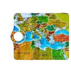World Map Kindle Fire HDX 8.9  Flip 360 Case