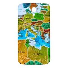 World Map Samsung Galaxy Mega I9200 Hardshell Back Case