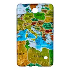 World Map Samsung Galaxy Tab 4 (7 ) Hardshell Case