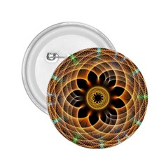 Mixed Chaos Flower Colorful Fractal 2.25  Buttons