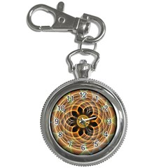 Mixed Chaos Flower Colorful Fractal Key Chain Watches