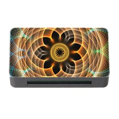 Mixed Chaos Flower Colorful Fractal Memory Card Reader with CF