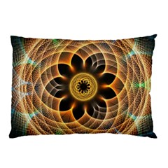 Mixed Chaos Flower Colorful Fractal Pillow Case (Two Sides)