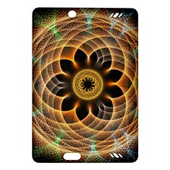 Mixed Chaos Flower Colorful Fractal Amazon Kindle Fire HD (2013) Hardshell Case