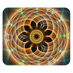 Mixed Chaos Flower Colorful Fractal Double Sided Flano Blanket (Small)