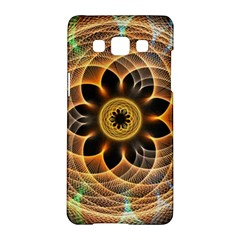 Mixed Chaos Flower Colorful Fractal Samsung Galaxy A5 Hardshell Case