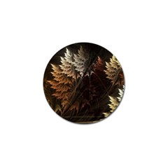 Fractalius Abstract Forests Fractal Fractals Golf Ball Marker (4 pack)
