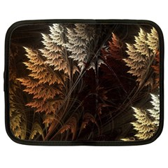 Fractalius Abstract Forests Fractal Fractals Netbook Case (XL)