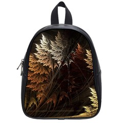 Fractalius Abstract Forests Fractal Fractals School Bags (Small)