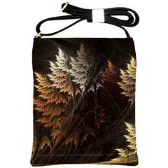 Fractalius Abstract Forests Fractal Fractals Shoulder Sling Bags