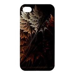 Fractalius Abstract Forests Fractal Fractals Apple iPhone 4/4S Hardshell Case