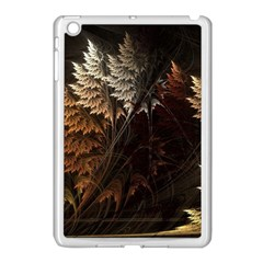 Fractalius Abstract Forests Fractal Fractals Apple iPad Mini Case (White)
