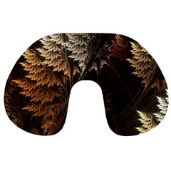 Fractalius Abstract Forests Fractal Fractals Travel Neck Pillows