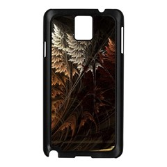 Fractalius Abstract Forests Fractal Fractals Samsung Galaxy Note 3 N9005 Case (Black)