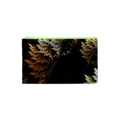 Fractalius Abstract Forests Fractal Fractals Cosmetic Bag (XS)