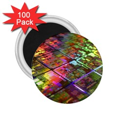 Technology Circuit Computer 2.25  Magnets (100 pack)