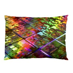 Technology Circuit Computer Pillow Case (Two Sides)
