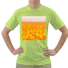 Beer Alcohol Drink Drinks Green T-Shirt