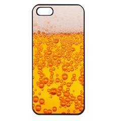 Beer Alcohol Drink Drinks Apple iPhone 5 Seamless Case (Black)