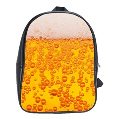 Beer Alcohol Drink Drinks School Bags (XL)