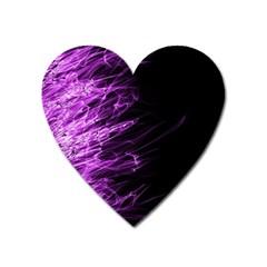 Fire Heart Magnet