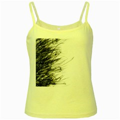 Fire Yellow Spaghetti Tank