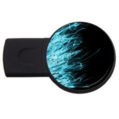 Fire USB Flash Drive Round (4 GB)