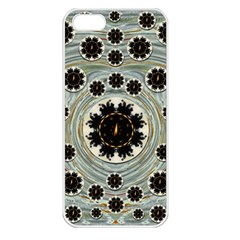 Wood In The Soft Fire Galaxy Pop Art Apple Iphone 5 Seamless Case (white)