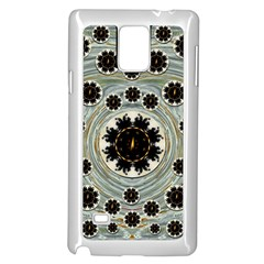 Wood In The Soft Fire Galaxy Pop Art Samsung Galaxy Note 4 Case (white)