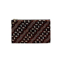 Art Traditional Batik Pattern Cosmetic Bag (Small)