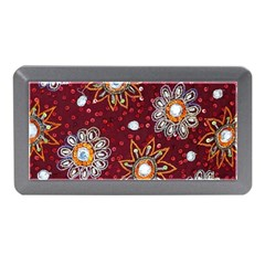 India Traditional Fabric Memory Card Reader (Mini)