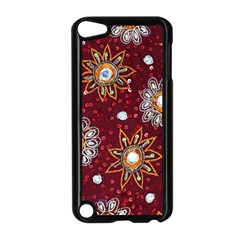 India Traditional Fabric Apple iPod Touch 5 Case (Black)