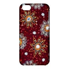 India Traditional Fabric Apple iPhone 5C Hardshell Case