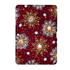India Traditional Fabric Samsung Galaxy Tab 2 (10.1 ) P5100 Hardshell Case