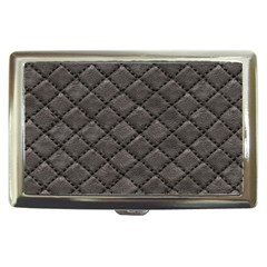 Seamless Leather Texture Pattern Cigarette Money Cases