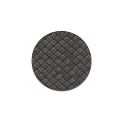 Seamless Leather Texture Pattern Golf Ball Marker (10 pack)