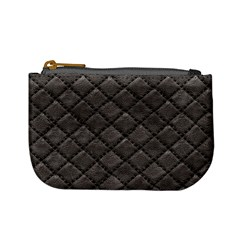 Seamless Leather Texture Pattern Mini Coin Purses