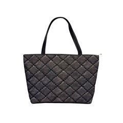 Seamless Leather Texture Pattern Shoulder Handbags