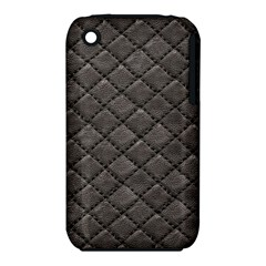 Seamless Leather Texture Pattern iPhone 3S/3GS
