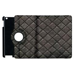 Seamless Leather Texture Pattern Apple iPad 2 Flip 360 Case