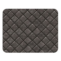 Seamless Leather Texture Pattern Double Sided Flano Blanket (Large)